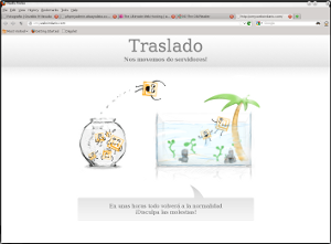 webcindario, miarroba migrando